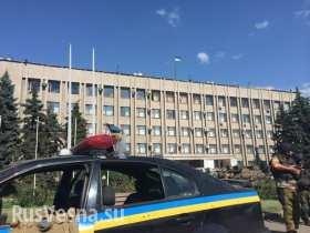 Треть милиционеров из Славянска исчезли, вероятно, они с ополченцами в Донецке — МВД