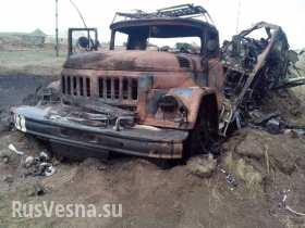 4 грузовика с трупами вывезли из под Зеленополья - украинский солдат