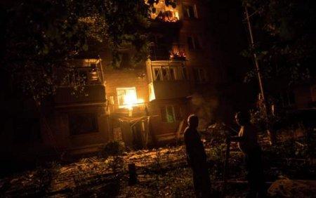 Часть жителей Луганска осталась без воды и электричества