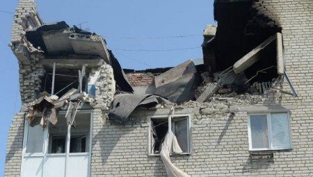 По улицам Донецка прошла колонна военной техники, сообщили власти