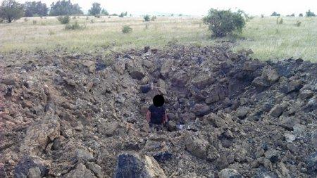 Разрушения в Золотаревке и снаряды, которыми обстреляли НПЗ в Лисичанске (ФОТО)