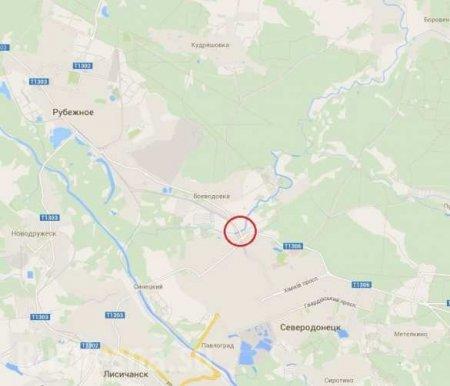 Взорван мост связывающий Северодонецк и Рубежное (видео)