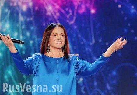 Ротару поделилась впечатлениями от концерта в России (ВИДЕО)