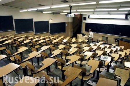 На Украине резко сократилось количество студентов