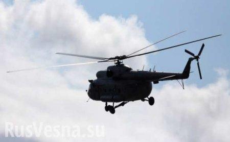 Вертолёт Ми-8совершил жёсткую посадку в Красноярском крае (+ФОТО)