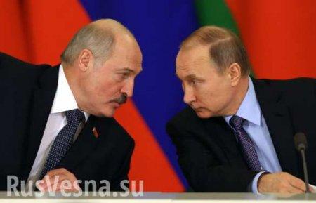 Путин провёл переговоры с Лукашенко по нефти и газу