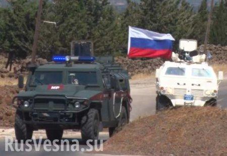 Сирия: Армия России добралась до границы с Иорданией (ФОТО)