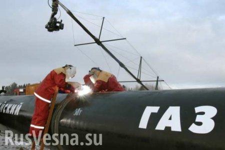 Колоссальные убытки: российский газ пошёл в Европу вобход Украины