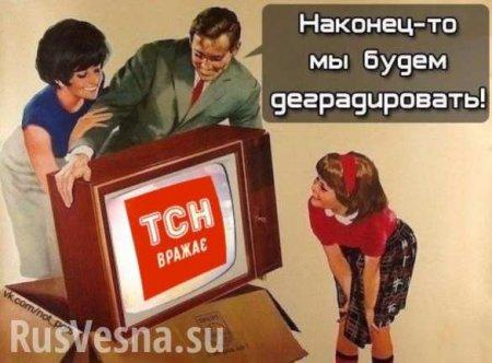 «Обезьянам, которые братаются с говном из-за поребрика»?: Киев запустит телеканал для Донбасса