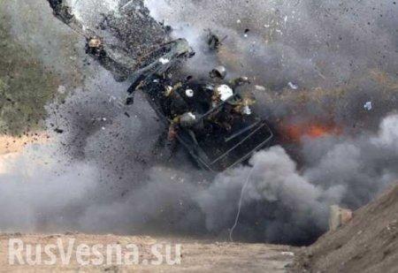Удирали от погони — подробности подрыва грузовика с карателями: сводка ЛНР