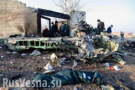 Посольство Украины изменило сообщение о причинах крушения «Боинга» в Иране