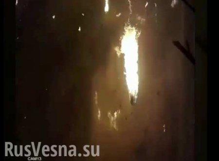Жуткие кадры: Камера сняла крушение украинского Боинга в Иране (ВИДЕО)