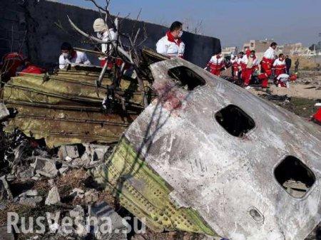 В Иране озвучили первые итоги расследования крушения украинского Boeing 737