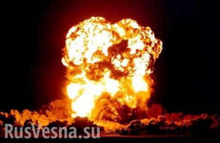 МОЛНИЯ: Нанефтеперерабатывающем заводе вУхте прогремел взрыв (ВИДЕО)