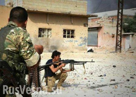 Кровопролитные бои в Сирии: банды Идлиба бросились в наступление (ВИДЕО)