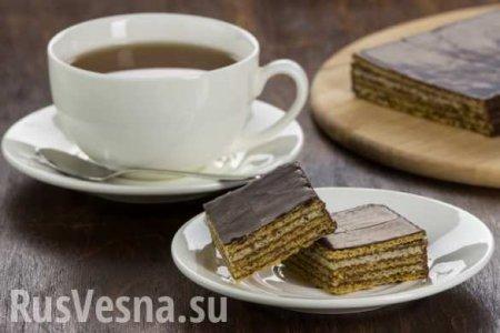 «Росконтроль» обнаружил в вафельных тортах высокое содержание опасных веществ