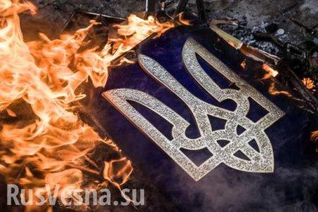 Украинцы страшно обиделись на Британию из-за «заклеймённого» трезубца (ВИДЕО)
