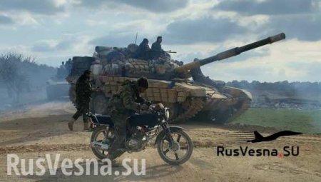 Новый котёл в Идлибе: оборона банд рухнула, армия Сирии освобождает города  ...