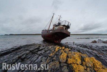 Украинский корабль сел на мель и заблокировал движение в Дунае