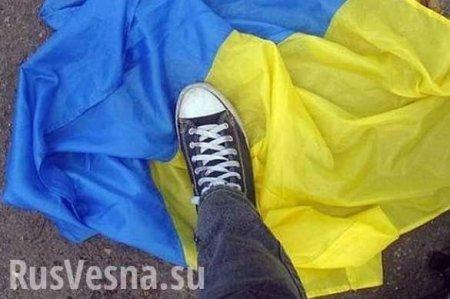 «Российские военные издеваются!»— в«незалежной» истерика из-за украинског ...