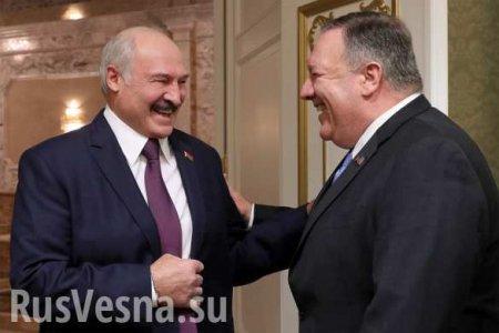 Встреча с Помпео — роковая ошибка Лукашенко, попытавшегося подразнить Путина