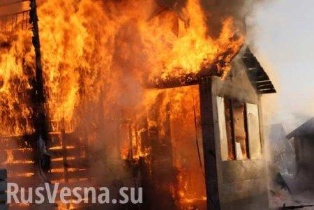 На Закарпатье дотла сгорела церковь