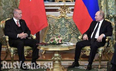 Эрдоган рассказал, о чём просил Путина, говоря о Сирии