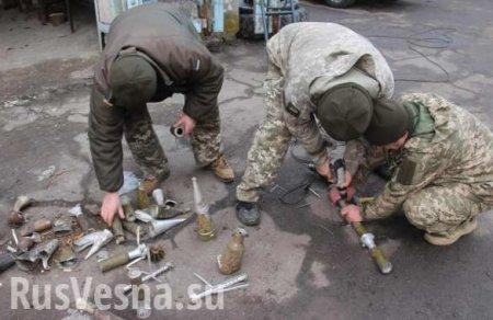 ВСУ сбили собственную «Фурию»: сводка с Донбасса