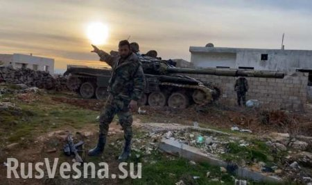 СРОЧНО: Армия Сирии взяла важнейшую крепость боевиков в Идлибе (КАРТА)