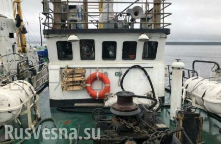 У берегов Эстонии затонуло российское судно (ФОТО)