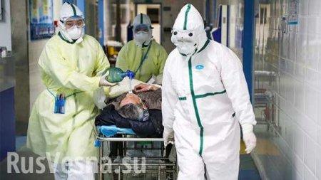 Число жертв коронавируса перешагнуло отметку 1100 человек, в России второй  ...