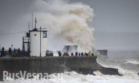 Сносит самолёты, затопило города: мощный ураган «Деннис» накрыл Европу (ФОТО, ВИДЕО)