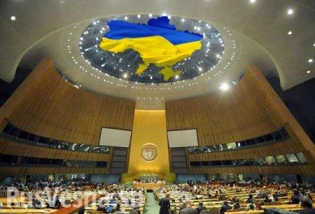 Оборванец: конфуз Украины вООН— оторванная пуговица опозорила Киев (ФОТО)