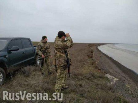 В День Советской Армии «незалежная» усилила границу с Крымом (ФОТО)