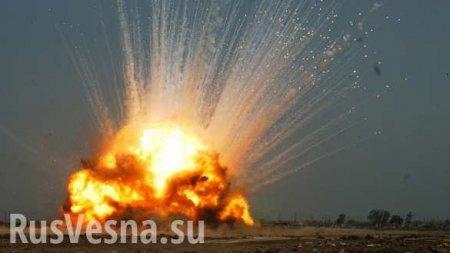 НаДонбассе уничтожен грузовик ВСУ, оккупанты понесли потери