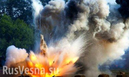 Взрыв на территории воинской части в Подмосковье, ранены несколько человек