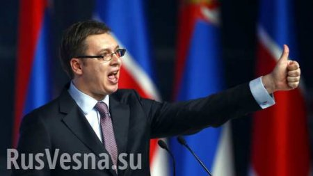 «Это были сказки набумаге» — президент Сербии заявил, чтоевропейской солидарности несуществует