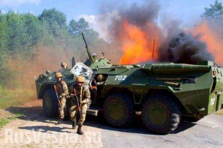 Хроники «перемирия»: каратели бьют о посёлкам ДНР из тяжёлого, обострение по всей линии фронта
