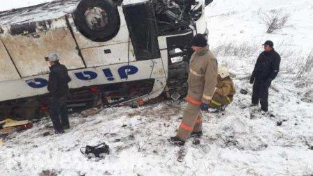 Лобовое столкновение: кровавая авария в Тамбовской области (ФОТО)