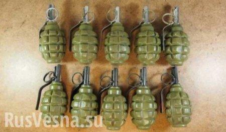 В ЛНР пресекли канал сбыта оружия и взрывчатки (ВИДЕО)