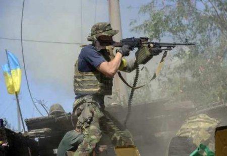 Грузинский наёмник расстрелял «всушников» из АК-74: сводка с Донбасса