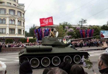 Народная акция пройдёт на День Победы в Донецке (ВИДЕО)