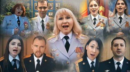 Луганские и российские красавицы в погонах спели в унисон для Русского мира (ФОТО, ВИДЕО)