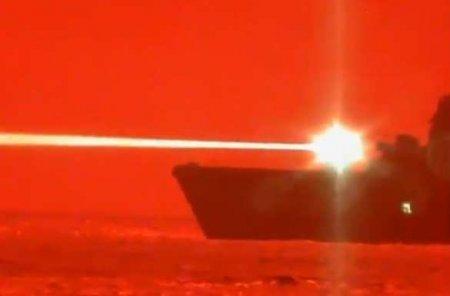 Появились кадры испытаний лазерного оружия для уничтожения морских и воздушных целей (ФОТО, ВИДЕО)