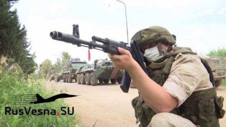 Российские военные заблокировали конвой армии США в Сирии (ФОТО, ВИДЕО)