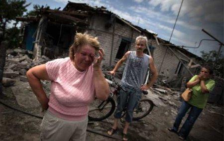 Страшный удар ВВС Украины по Луганску: Донбасс обвиняет Киев (ВИДЕО)