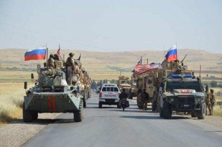 Сирия: военные США против армии России