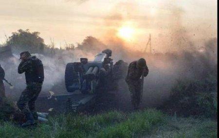 Донбасс: ранена женщина, огонь не утихает (ФОТО)