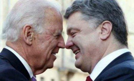 Переговоры Порошенко с Байденом: новая порция информации для международного скандала
