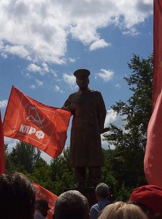 Памятник Сталину открыли под Нижним Новгородом (ФОТО)